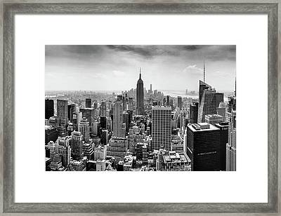 Classic New York  Framed Print by Az Jackson