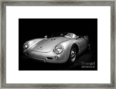 Classic Porsche Framed Print by Perry Webster