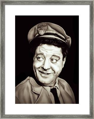 Classic Ralph Kramden Framed Print by Fred Larucci
