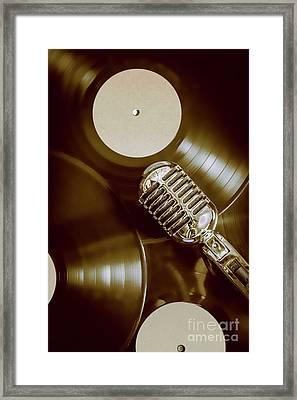 Classic Rock N Roll Framed Print by Jorgo Photography - Wall Art Gallery