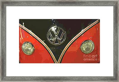 Classic Volkswagen Framed Print by Cheryl Young