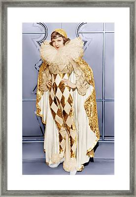 Claudette Colbert, Ca. 1932 Framed Print by Everett