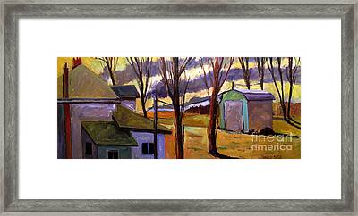 Clausings Balmy February 61 Degrees Framed Print by Charlie Spear