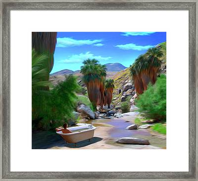 Clawfoot Framed Print by Snake Jagger