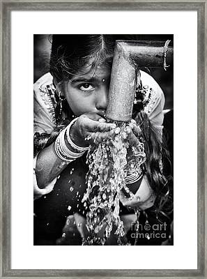 Clean Water Framed Print by Tim Gainey