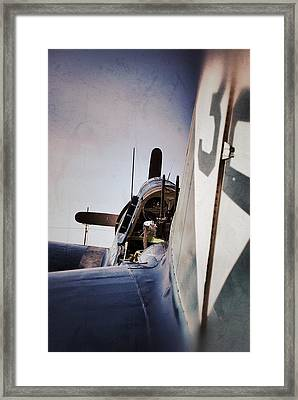 Clear For Take Off Framed Print by Pair of Spades