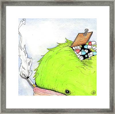 Clear Your Head Framed Print by Julie McDoniel