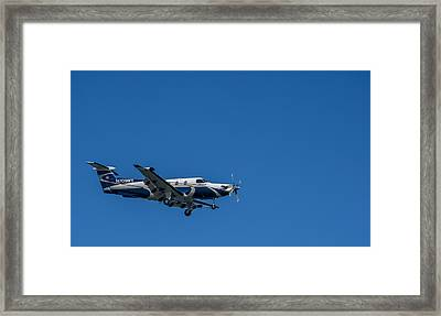Cleared To Land Framed Print by Marvin Spates