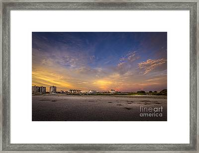 Clearwater Intercoastal Framed Print by Marvin Spates