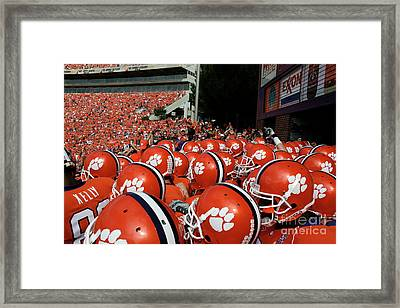 Clemson Tigers Framed Print by Taylor C Jackson