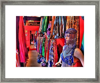 Cleopatras Bedroom Framed Print by Lawrence Christopher