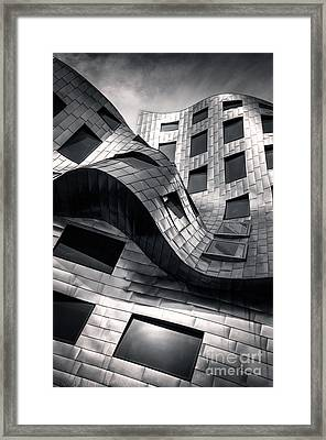 Cleveland Clinic 1, Vegas Framed Print by Martin Williams