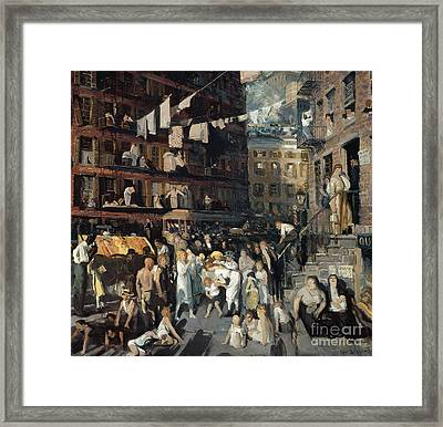 Cliff Dwellers Framed Print by Celestial Images