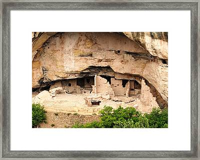 Cliff Dwellers Framed Print by Nicholas Blackwell
