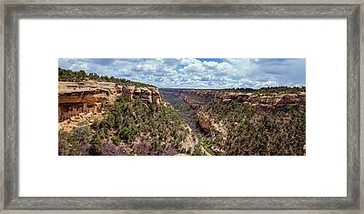 Cliff Palace Mesa Verde Framed Print by Joan Carroll