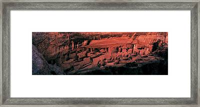 Cliff Palace Mesa Verde National Park Framed Print by Panoramic Images