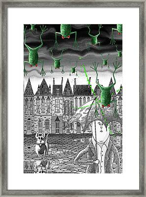 Climate Change  Framed Print by Andrew Hitchen