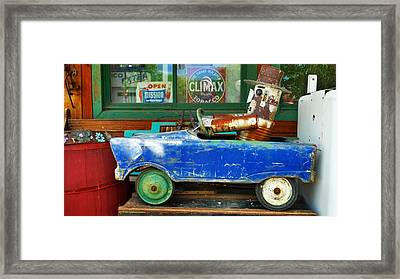 Climax Framed Print by Skip Hunt