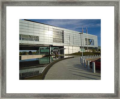Clinton Library Framed Print by Anthony Schafer