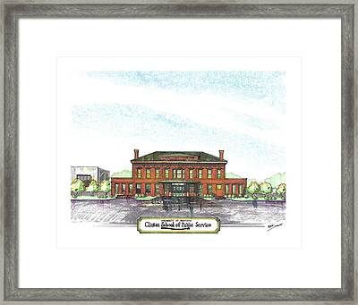 Clinton School Of Public Service Framed Print by Yang Luo-Branch