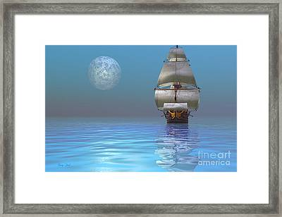 Clipper Ship Framed Print by Corey Ford
