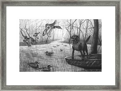 Cloaked Framed Print by Peter Piatt