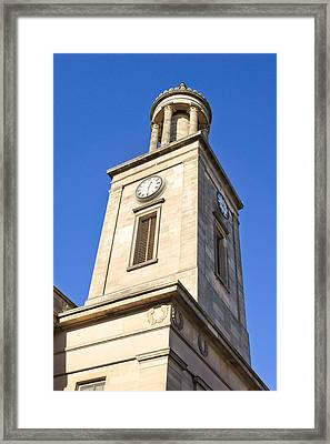 Clock Tower Framed Print by Tom Gowanlock
