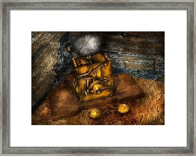 Clocksmith - A Device That Rings  Framed Print by Mike Savad