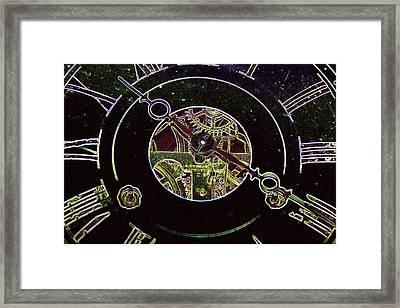 Clockwork Framed Print by Holly Ethan