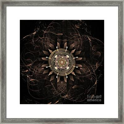 Clockwork Framed Print by John Edwards