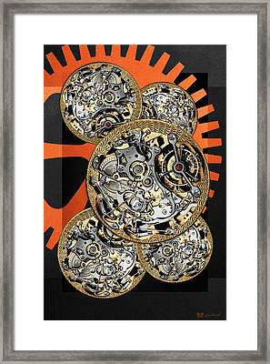 Clockwork Orange - 4 Of 4 Framed Print by Serge Averbukh