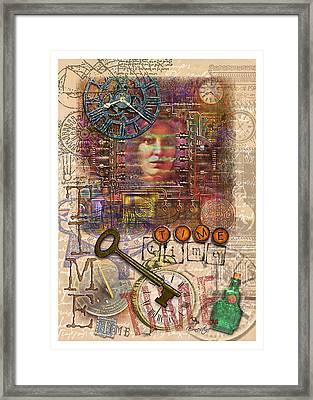 Clockworks Framed Print by Ernestine Grindal