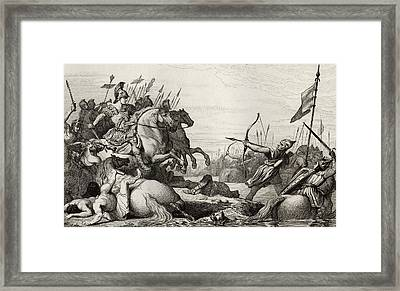 Clodion The Hairy C.428 To 447 Retreats Framed Print by Vintage Design Pics