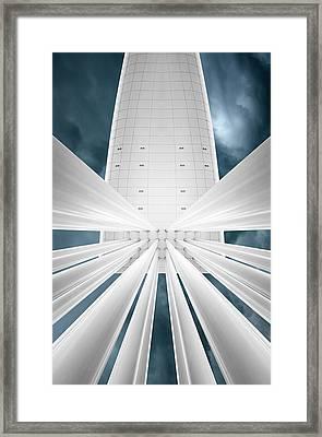 Close Encounters Framed Print by Michiel Hageman