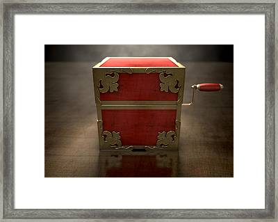 Close Jack-in-the-box Antique Framed Print by Allan Swart