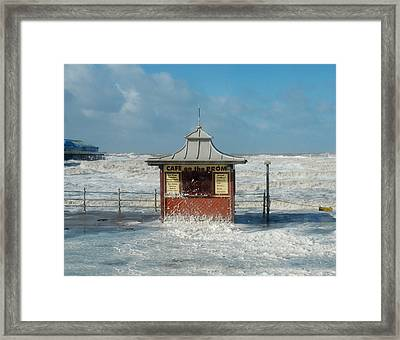 Closed For Now Framed Print by Alex Hardie