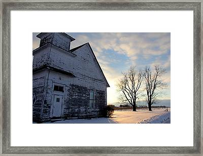 Closed On Sunday Framed Print by Ed Smith
