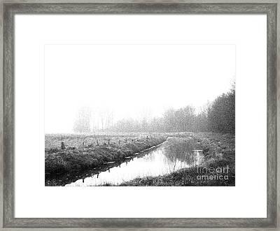 Closed Zone Framed Print by Steve K