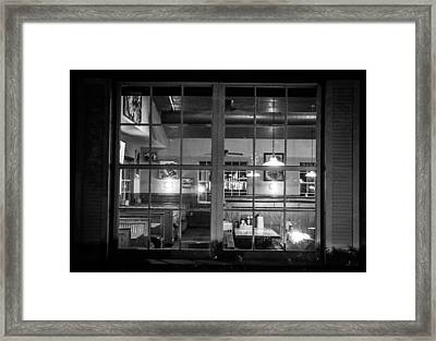 Closing Time Framed Print by Kendall Tabor