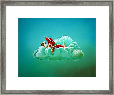Cloud 9 Framed Print by Cindy Thornton