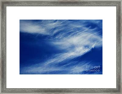 Cloud Formations Framed Print by Clayton Bruster