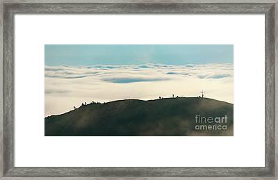 Cloud Horizon Framed Print by Svetlana Sewell