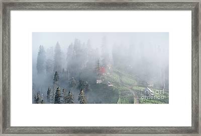 Cloud Mist Framed Print by Svetlana Sewell