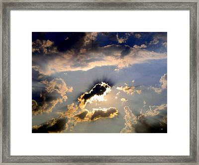 Cloud Nine 4 Framed Print by Will Borden