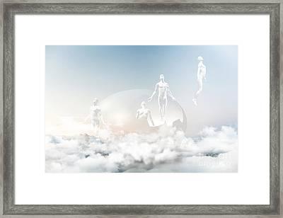 Cloud Nine Framed Print by Jacky Gerritsen
