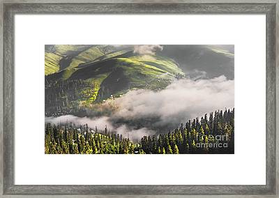 Cloud Of Fog Framed Print by Svetlana Sewell