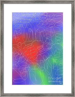 Cloud Raps Framed Print by Will Hoffman