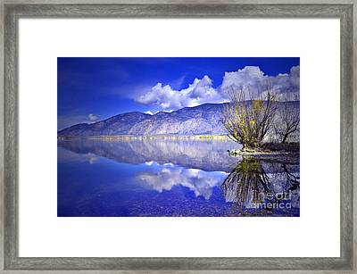Clouds And Clarity Framed Print by Tara Turner