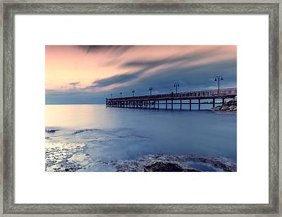 Clouds Come Floating Into My Life Framed Print by Stelios Kleanthous