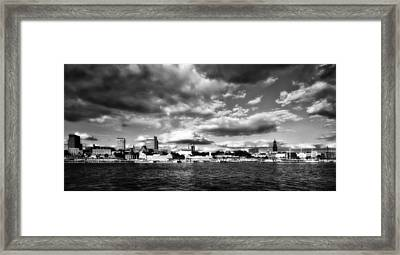 Clouds Over Hamburg Framed Print by Mountain Dreams
